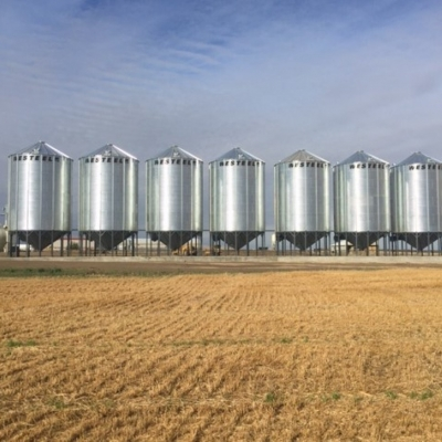 Hopper Bottom Bins